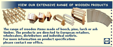 Gallery of wooden products