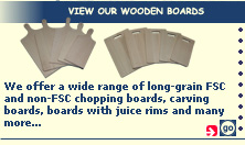 View our wooden boards